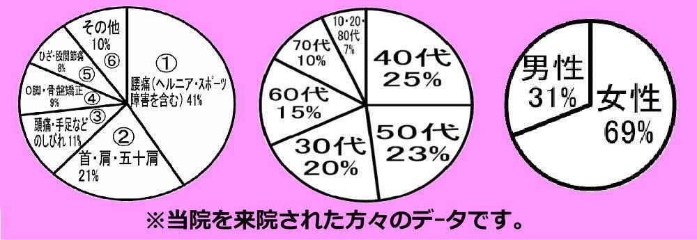 スポーツ整体平岡整体療院グラフ